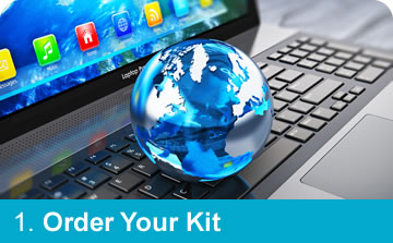 Step 1: Order Your DNA Testing Kit from Affinity DNA